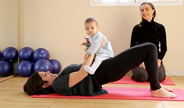 pilates con tu bebé